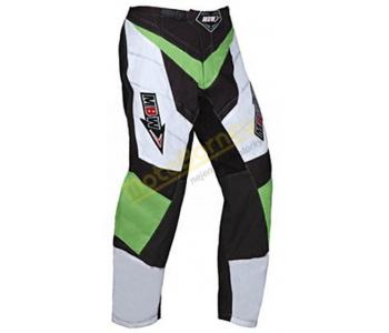 Zelené motokrosové kalhoty