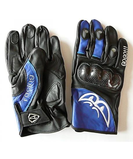 Kožené motorkářské rukavice, vel. L