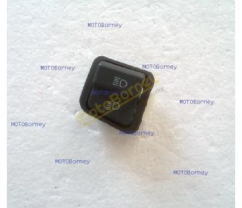 Přepínač tlumených a dálkových světel na skútr, 3 piny