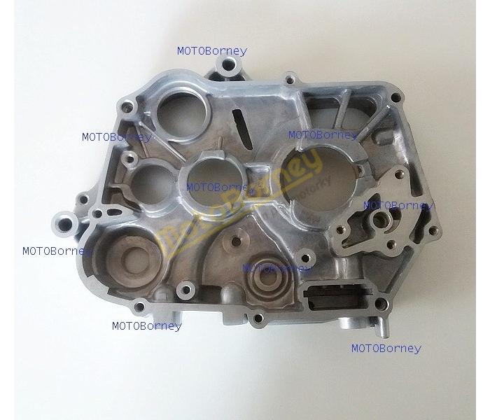 Blok motoru - karter, pravý