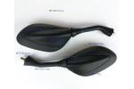 Univerzální zrcátka na moto, skútr:   závit 8mm, pravý   délka 310 mm   zrcátko 135 mm a 80 mm   1 pár   bez homologace