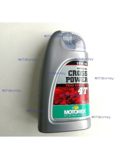 Motorex Cross Power 10W60 4T 1l
