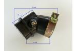 Hrdlo sání karburátoru na skútr Kymco 125, 150, SYM 125