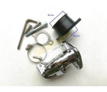 Hrdlo sání karburátoru na skútr MBK 250, Yamaha 250