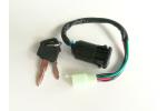 Spínací skříňka na minibike, minicros, ATV:   4 piny