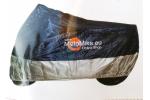 Krycí plachta JMP do 500 ccm:   modro-stříbrná   voděodolná, prodyšná   integrovaná ventilace   stabilní při střídání teplot a UV   s praktickým obalem