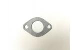 Těsnění karburátoru na skútr, pitbike, ATV:   průměr středu 24 mm   rozteč 45 mm