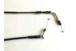 Plynové lanko na skútr 4T:   celková délka 193 cm