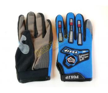 Textilní motorkářské rukavice, vel, M