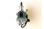 Karburátor na ATV:   sytič na lanko   průměr difuzéru 30 mm   Rozteč šroubů 48 mm   průměr na filtr 42 mm