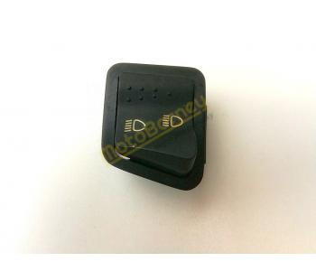 Přepínač tlumených a dálkových světel na skútr, 4 piny