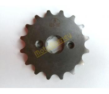 Řrtězové kolečko 420-16T na pitbike, dirtbike, čtyřkolku