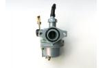 Karburátor na pitbike, ATV:   sytič na lanko   průměr difuzéru 18,5 mm   průměr na filtr 35 mm   rozteč 48 mm