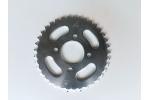 Rozeta na pitbike, dirtbike, ATV:   na řetěz 420   střed 48 mm   rozteč 68 mm   37 zubů