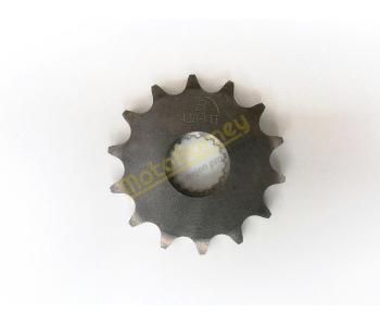 Řetězové kolečko 428 - 14T na pitbike, dirtbike