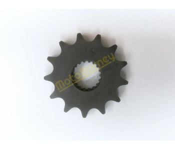 Řetězové kolečko 428 - 13T na pitbike, dirtbike