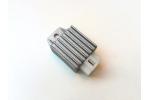 Regulátor napětí na pitbike, dirtbike, ATV, moto:   4 piny     celková délka 68 mm   šířka 35 mm   výška 21 mm
