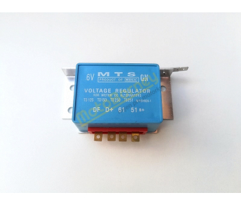 Regulátor dobíjení na MZ, 6V