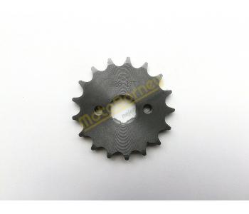 Řetězové kolečko 428 - 17T na pitbike, dirtbike, čtyřkolku