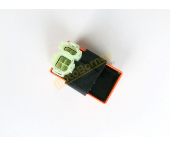 CDI, řídící jednotka na skútr 4T, 6 pinů, tuning