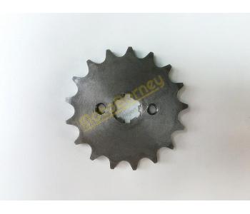 Řetězové kolečko 420 - 17T na pitbike, dirtbike, čtyřkolku, motocykl